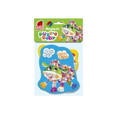 Magnetic Puzzle Baby Schaf-Schwein (Kinderpuzzle)
