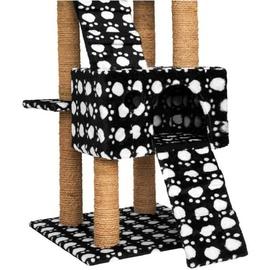Tectake Goran 65 x 49 x 169 cm schwarz/weiß