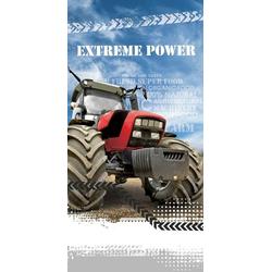 TOP! Handtuch Traktor - Handtuch, 70x140 cm (1-St), 100% Baumwolle