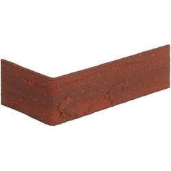ELASTOLITH Verblender Colorado Eckverblender, rot, für Außen- und Innenbereich, 2 Lfm rot Verblendsteine Paneele Bauen Renovieren