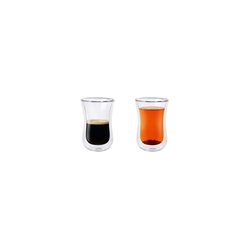 Stölzle Thermoglas COFFEE ´N MORE Thermoglas 90 ml S 2er Set (2-tlg), Glas