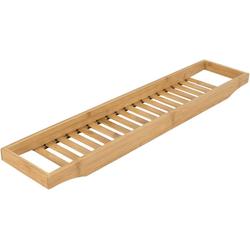 elbmöbel Badewannenablage Wannenbrücke Praktisches Tablett für die Wanne Holz Badewannenauflage 68x14,7 cm, Tablett für die Badewanne