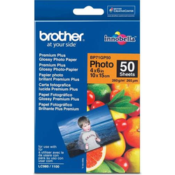 Brother Fotopapier A6 BP-71GP50