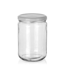 580ml Rundglas mit Twist Off 82