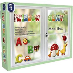 Window Clay Maxi-Box Fensterknete, 10 x 50 g