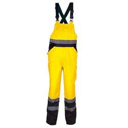 COFRA® Herren Warnschutzhose TUTTLE gelb Größe 4XL