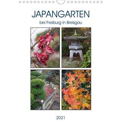 Japangarten (Wandkalender 2021 DIN A4 hoch)