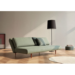 Innovation Unfurl Lounger Linen Ash Grey 613 - Schlafsofa