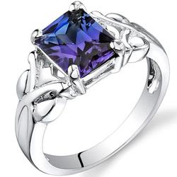 Silberner Ring mit Alexandrit Jely