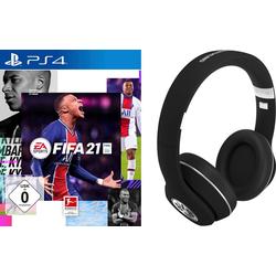 FIFA 21 PlayStation 4, inkl. BVB Headset schwarz