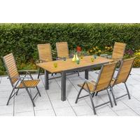 Billige Gartenmöbel Sets für 6 Personen ▻ Angebote vergleichen!