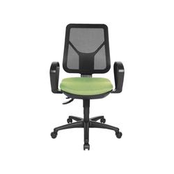 TOPSTAR Schreibtischstuhl Ergo Net mit Bandscheibensitz grün