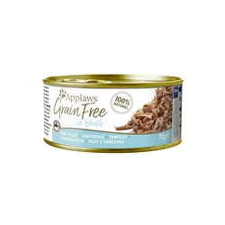 APPLAWS Grainfree in Broth Thunfischfilet 70g