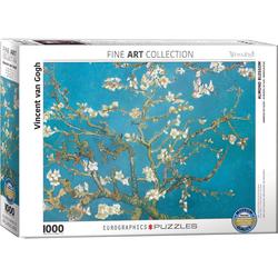 empireposter Puzzle Vincent van Gogh - Mandelbaum - 1000 Teile Puzzle - Grösse 68x48 cm, 1000 Puzzleteile