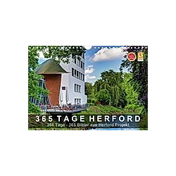 365 Tage Herford (Wandkalender 2021 DIN A4 quer)