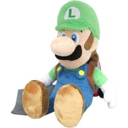 Nintendo Plüschfigur Luigi mit Staubsauger, 26 cm