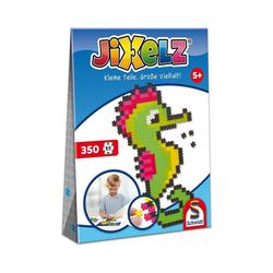 Schmidt Spiele Puzzle Jixelz Puzzle Seepferdchen 350 Teile, Puzzleteile