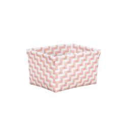 Kleine Wolke Aufbewahrungsbox Double Laundry in magnolie, 12 x 16,5 x 20 cm