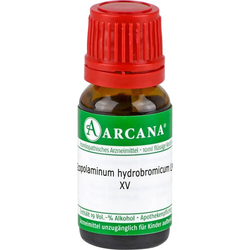 SCOPOLAMINUM HYDROBROMICUM LM 15 Dilution 10 ml