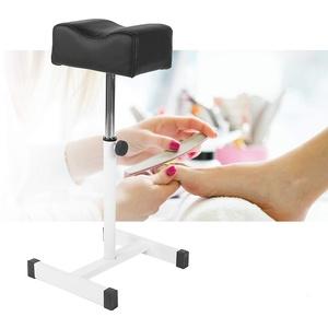 Pediküre Hocker, Pediküre Hocker Stuhl, Pediküre Hocker Stuhl mit Fußstütze, Beinstütze Fußpflege Beinstütze Beinstütze mit Rollen für professionelle Kosmetik, höhenverstellbar