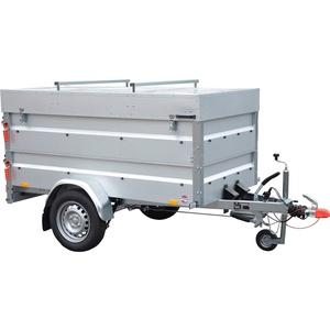 STEMA PKW-Anhänger BASIC 850 COC, max. 593 kg, inkl. Bordwandaufsatz und Deckel