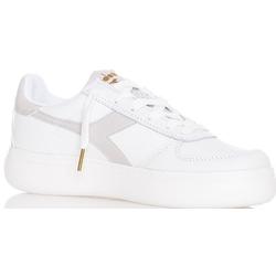 Diadora B Elite Wide Woman - Sneaker - Damen White/Grey 6,5 UK