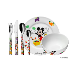 WMF Kinderbesteck Set Mickey Mouse, 6-teilig