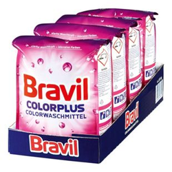 Bravil Colorwaschmittel Plus 30 WL, 4er Pack