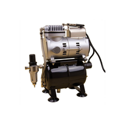 Airbrush-City Druckluftwerkzeug Komplett Airbrush Set Body-Painting + Airbrushpistole Ultra + Sparmax Kompressor, (1-St)