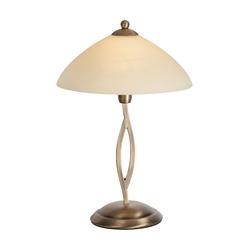 Klassische Tischlampe Bronze mit Schiebestab - Corsaire