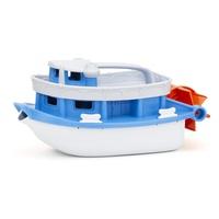 Green Toys Paddle Boat Badeboot Blau, Weiß