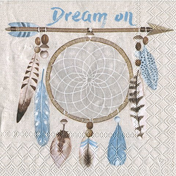 "Papierservietten ""Dream on"", 33 x 33 cm, 20 Stück"