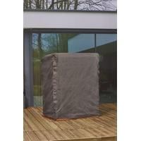 Mandalika Garden Schutzhülle für Strandkörbe Gartenmöbel Hülle 105-150cm Breite B126xT105xH160/135 cm
