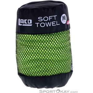 LACD Soft Towel Microfiber M Microfaser Handtuch-Grün-M
