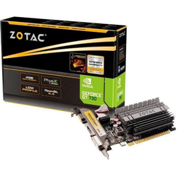 Zotac GeForce GT 730 Zone Edition 4GB DDR3 Grafikkarte LP DVI/HDMI/VGA