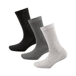 MUSTANG Socken 3 Paar Socken grau 39-42