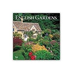 English Gardens - Englische Gärten 2021 - 16-Monatskalender