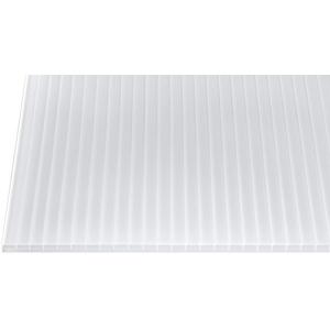 Polycarbonat Stegplatten Hohlkammerplatten weiß-opal 5000 x 980 x 16 mm