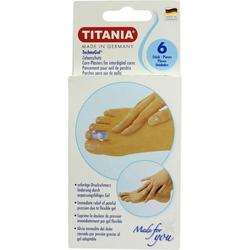 Zehenschutz Technogel klein Titania