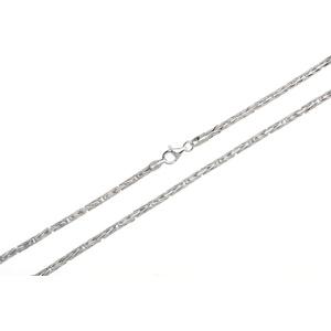 Silberkettenstore Königskette runde Königskette 3mm, 925 Silber, bis 100cm wählbar silberfarben 65cm