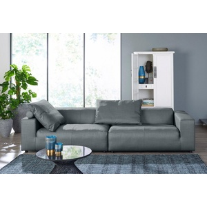 Affordable Hlsta Sofa Sitzer Sofa Hs Wahlweise In Stoff Oder Leder Mit With Couch  Grau