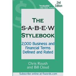 The SABEW Stylebook als Taschenbuch von Chris Roush/ Bill Cloud