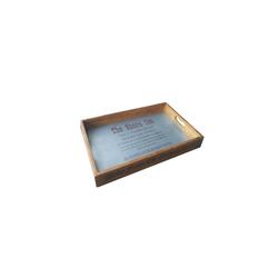 HTI-Line Tablett Holztablett Lino, Holz, Tablett