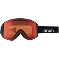 Anon Sync Schneebrille 2021 black/perceive sunny red