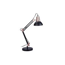 relaxdays Schreibtischlampe Schreibtischlampe Retro