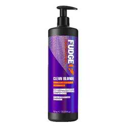 Fudge Shampoo Clean Blonde Violet-Toning Shampoo