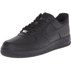 NIKE Air Force 1 Men's Sneakers Black/Black 315122-001 (12 D(M) US)