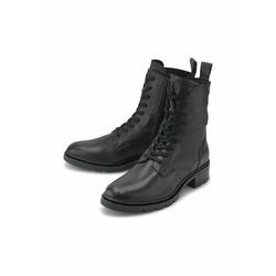 Schnür-Stiefeletten Schnür-Stiefelette COX schwarz
