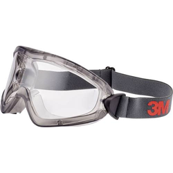 3M 2891-SG Vollsichtbrille mit Antibeschlag-Schutz Grau