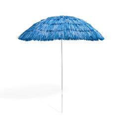 Hawaii Strohschirm blau 160 cm UV30 Strandschirm Sonnenschirm Gartenschirm